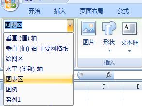 通过Excel图表工具快速选择图表元素