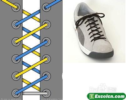 鞋带 系法 图解 5 孔 鞋带 系法 大全 图解 花式 系