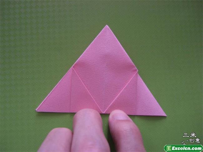 福山玫瑰折法图解