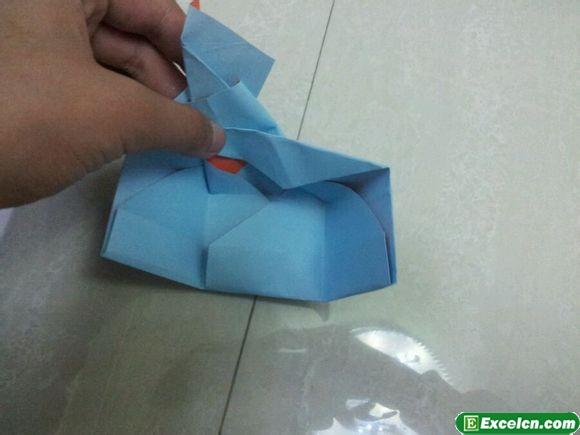 六边形纸盒折纸图解