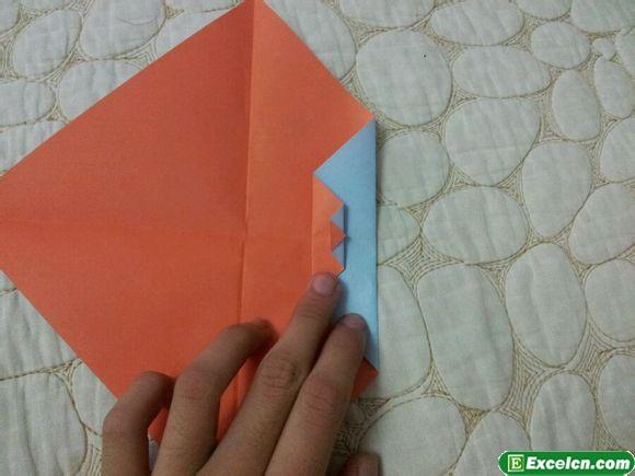 纸盒里,这样就不会那么乱了,下面的   六边形纸盒折纸图解