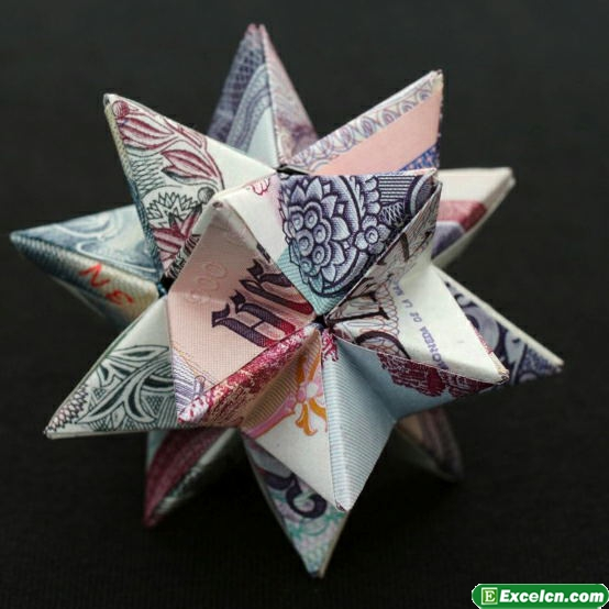 外国钱币折纸大全图解
