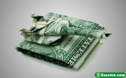 外币折纸大全图解