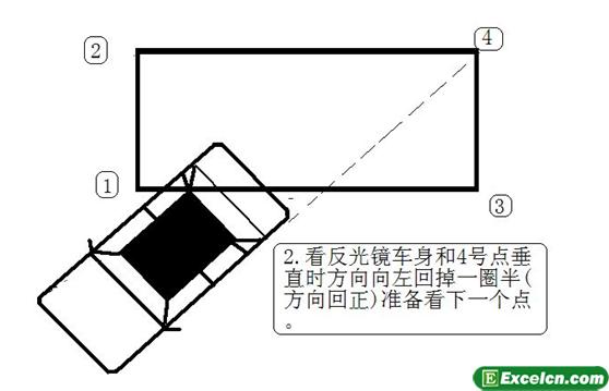 2013侧方位停车图解第二步