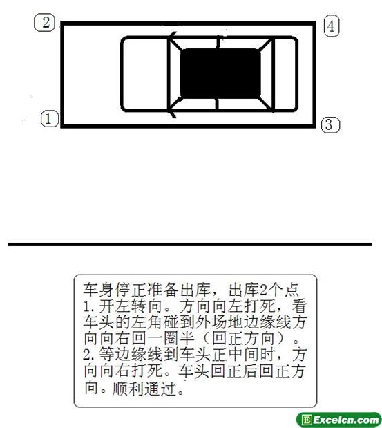 2013侧方位停车图解第四步