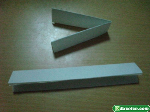 纸枪的折法图解3