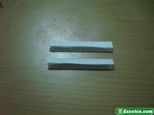 纸枪的折法图解20