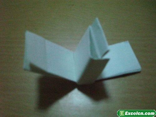 纸枪的折法图解6