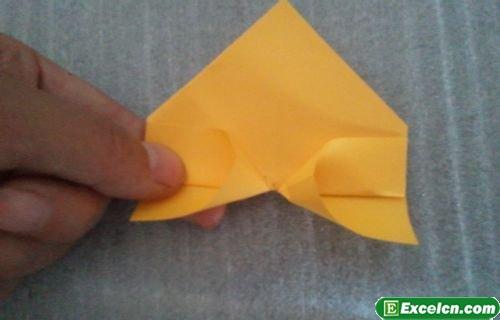 正方形爱心折纸图解 如何diy爱心折纸大全方法图解