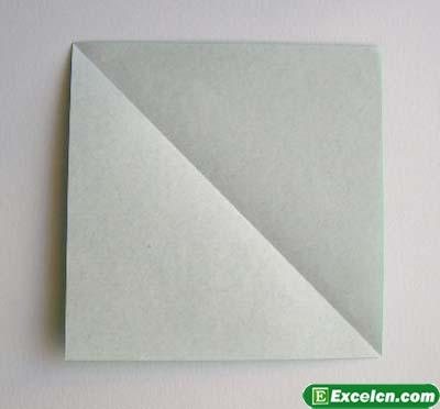 郁金香的折法图解11