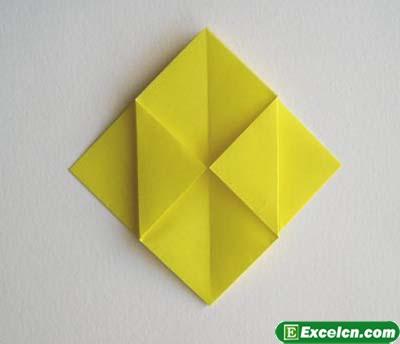 郁金香的折法图解2