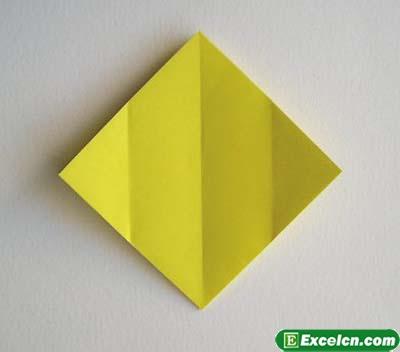 郁金香的折法图解3