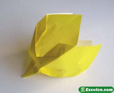 郁金香的折法图解9