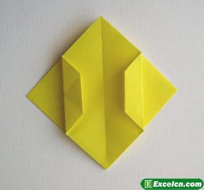 郁金香的折法图解5