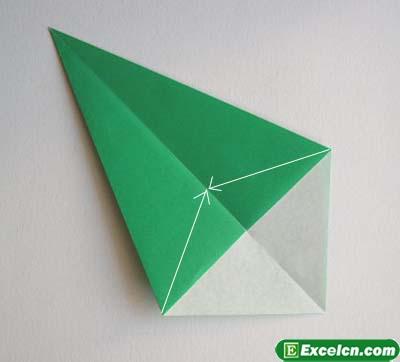 郁金香的折法图解12