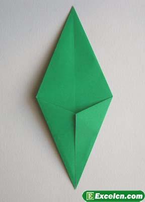 郁金香的折法图解13
