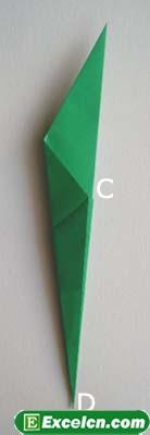 郁金香的折法图解16