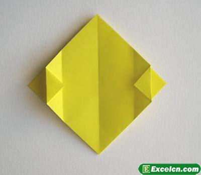 郁金香的折法图解4