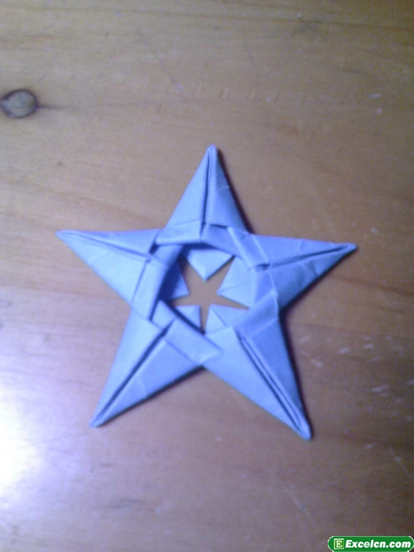 星星折纸图解