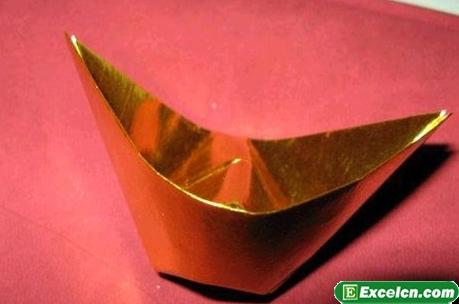 金元宝的折法图解
