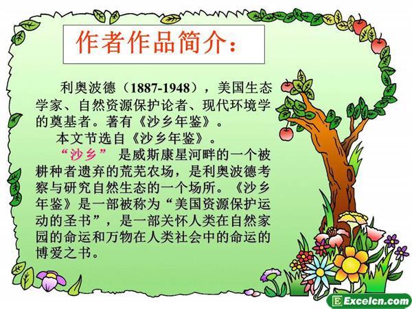 人教版八年级语文下册第14课《大雁归来》ppt课件3