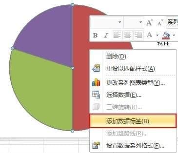excel2010怎么制作扇形图 制作扇形图详情一览