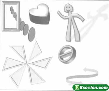 如何设置excel图表形状格式