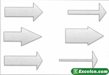 如何重新设计excel图表的形状