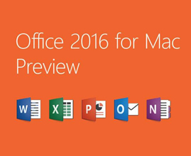 Microsoft Office for mac 2016破解激活版下载